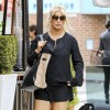 Jessica Simpson lunches at Via Allora in Beverly Hills