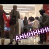 Human Mannequin Scare Prank