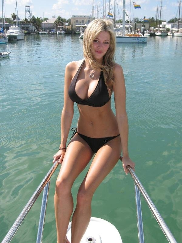 blonde boat sex