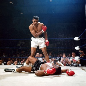 Muhammad Ali and Sonny Liston - May 25 1965
