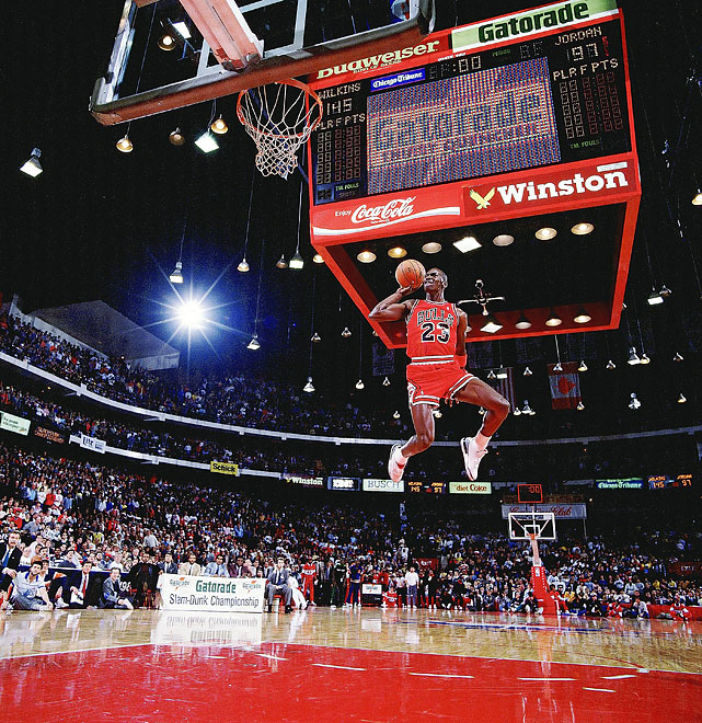 Michael Jordan - All-Star Weekend Feb 6 1988