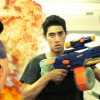 Office Warfare – Nerf Gun
