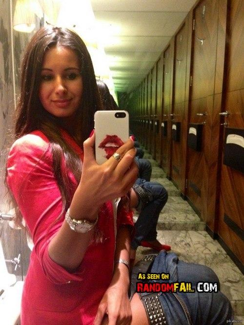 Selfie Toilet Fail