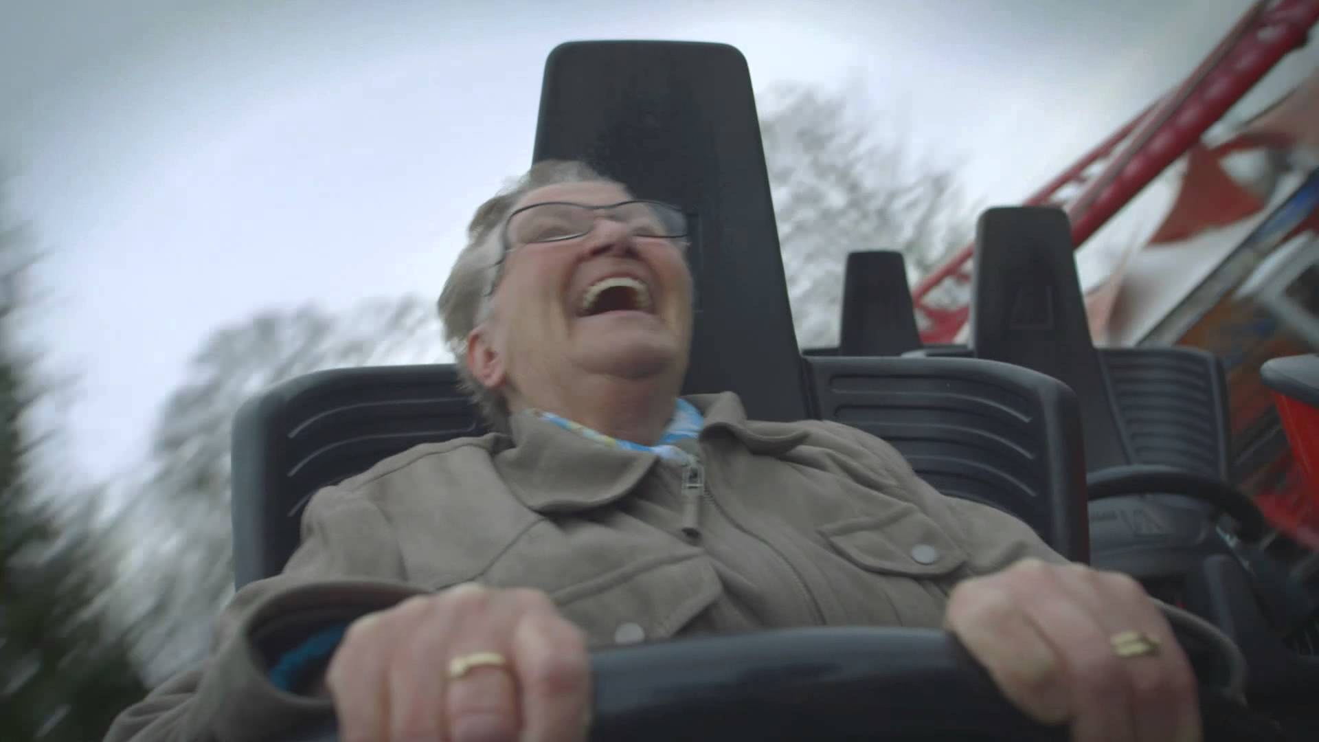 Nan on a roller coaster