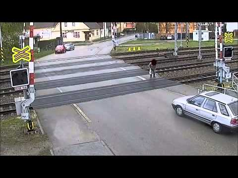 So This Idiot Thought He was Faster Than a Train