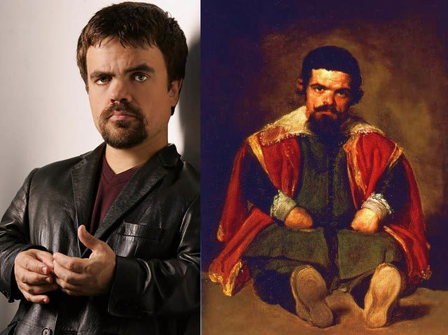 Peter Dinklage and Fancy Peter Dinklage