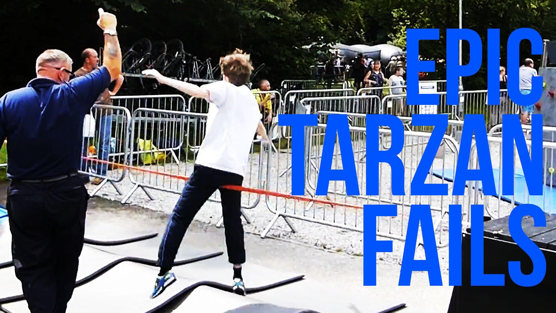 Friday Fails – Tarzan Fails