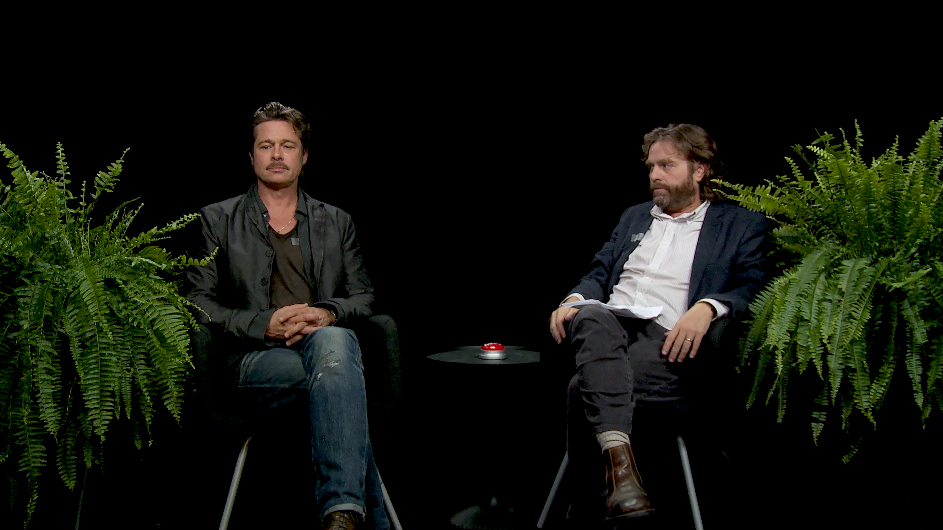 Between Two Ferns: Brad Pitt