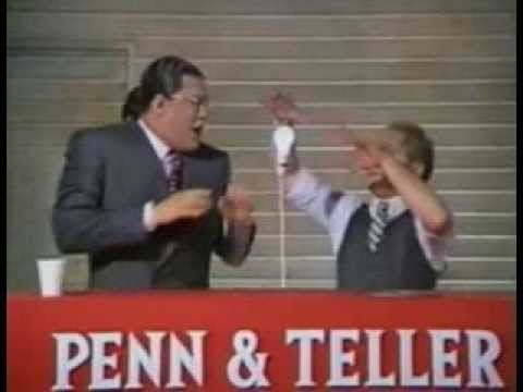 Penn & Teller – Are We Live?