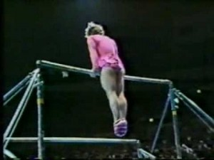 Paul Hunt comedy uneven bars