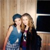 Britney Spears and Christina Aguilera, 1994.