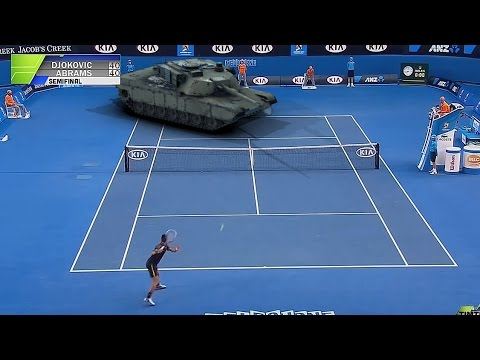 Djokovic vs. Tank