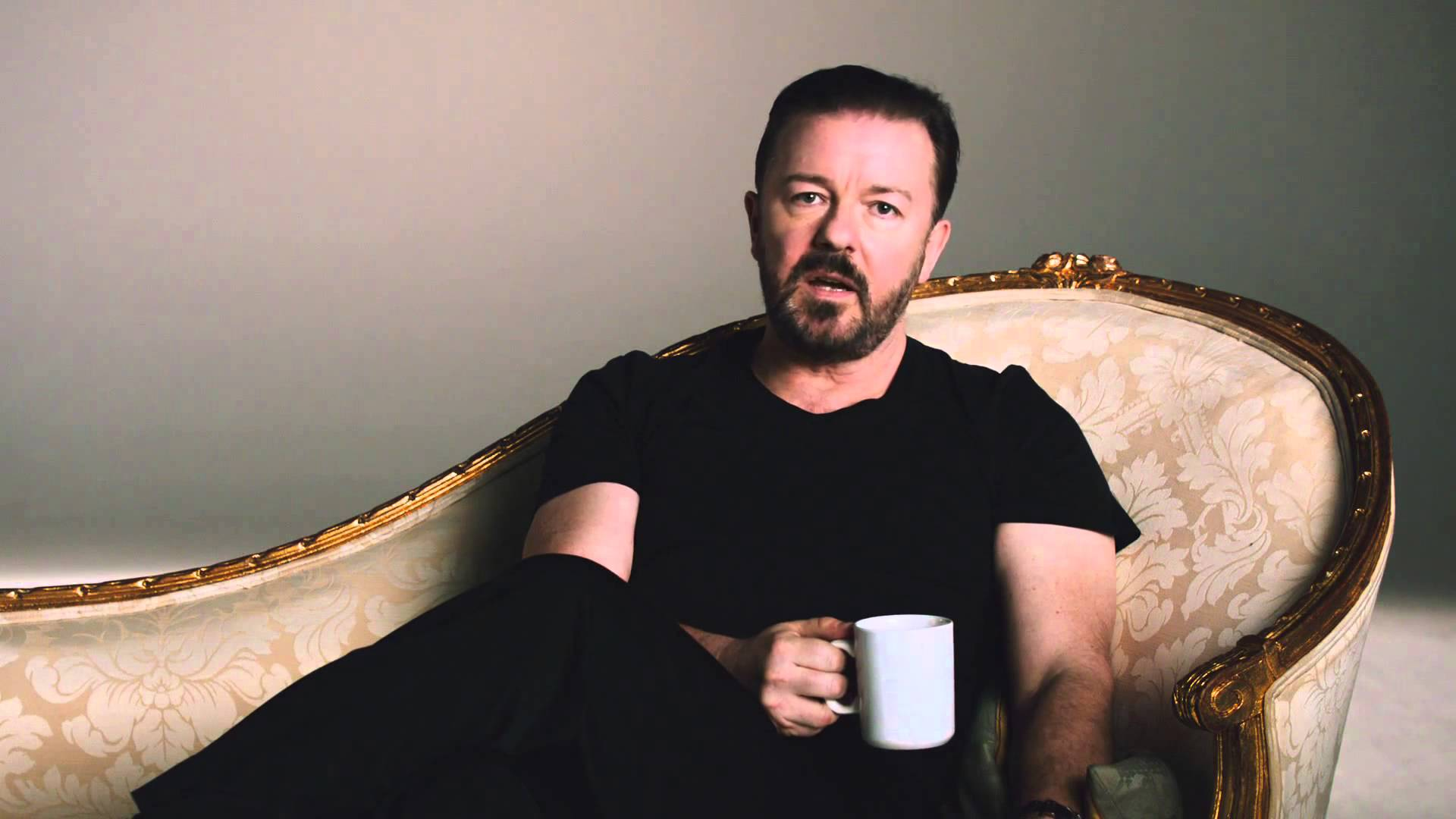 A very good bad ad with Rickey Gervais