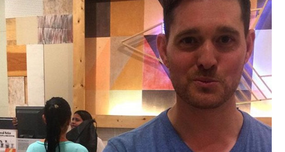Michael Buble's sexist selfie