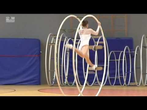 Gymnastics wheel