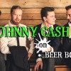 Johnny Cash on Beer Bottles