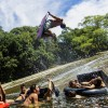 World's Most Epic Natural Waterslide!