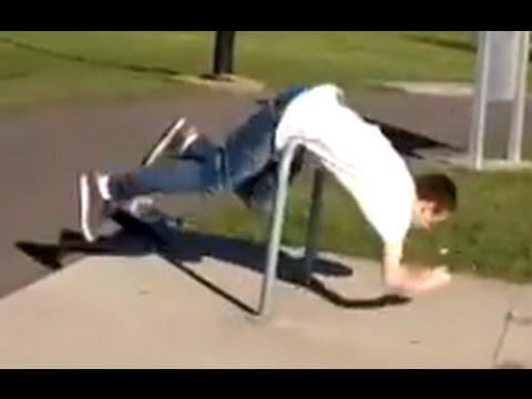 Worst Skater Trick Ever