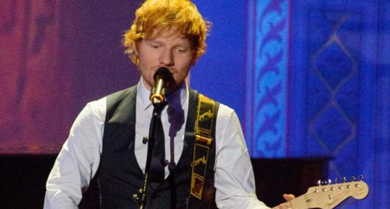 Ed Sheeran: 'No more cycling when I'm touring'