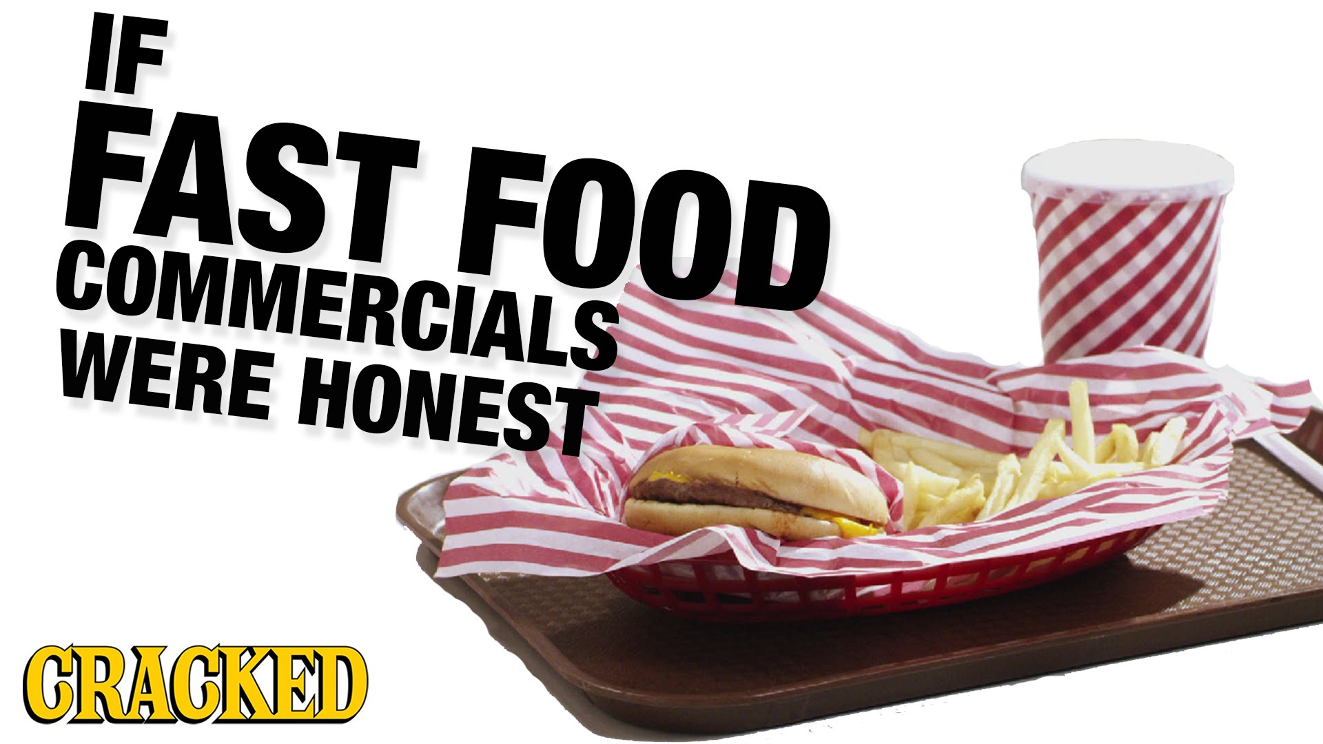 Honest fast food commercial