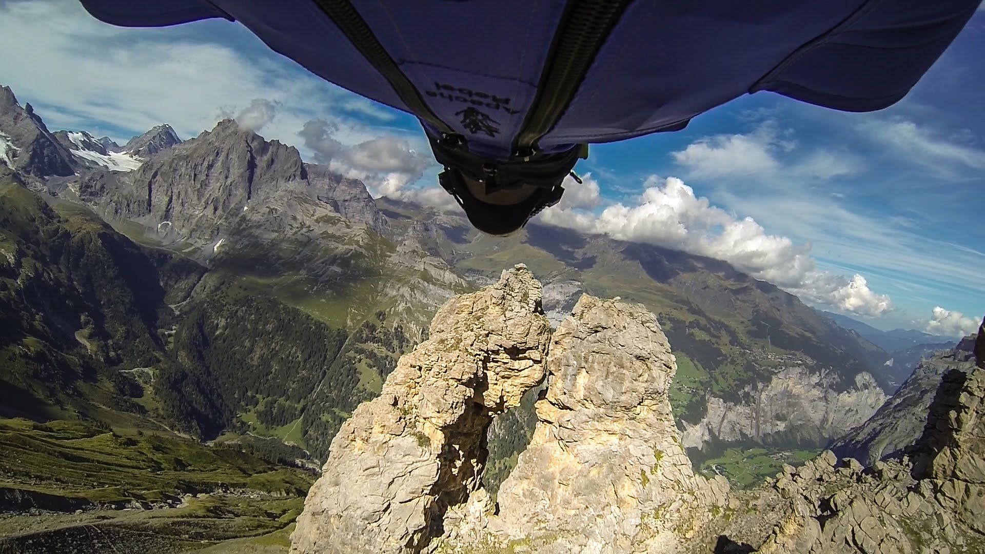 GoPro: Wingsuit Flight Through Cave