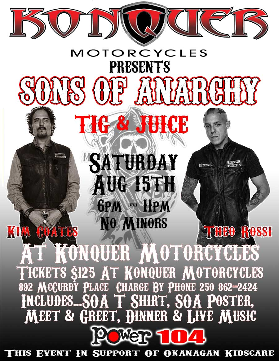 Sons of anarchy tig and juice in kelowna the tango soa event kristyandbryce Choice Image
