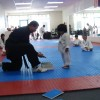 Little Boy Trying Taekwondo