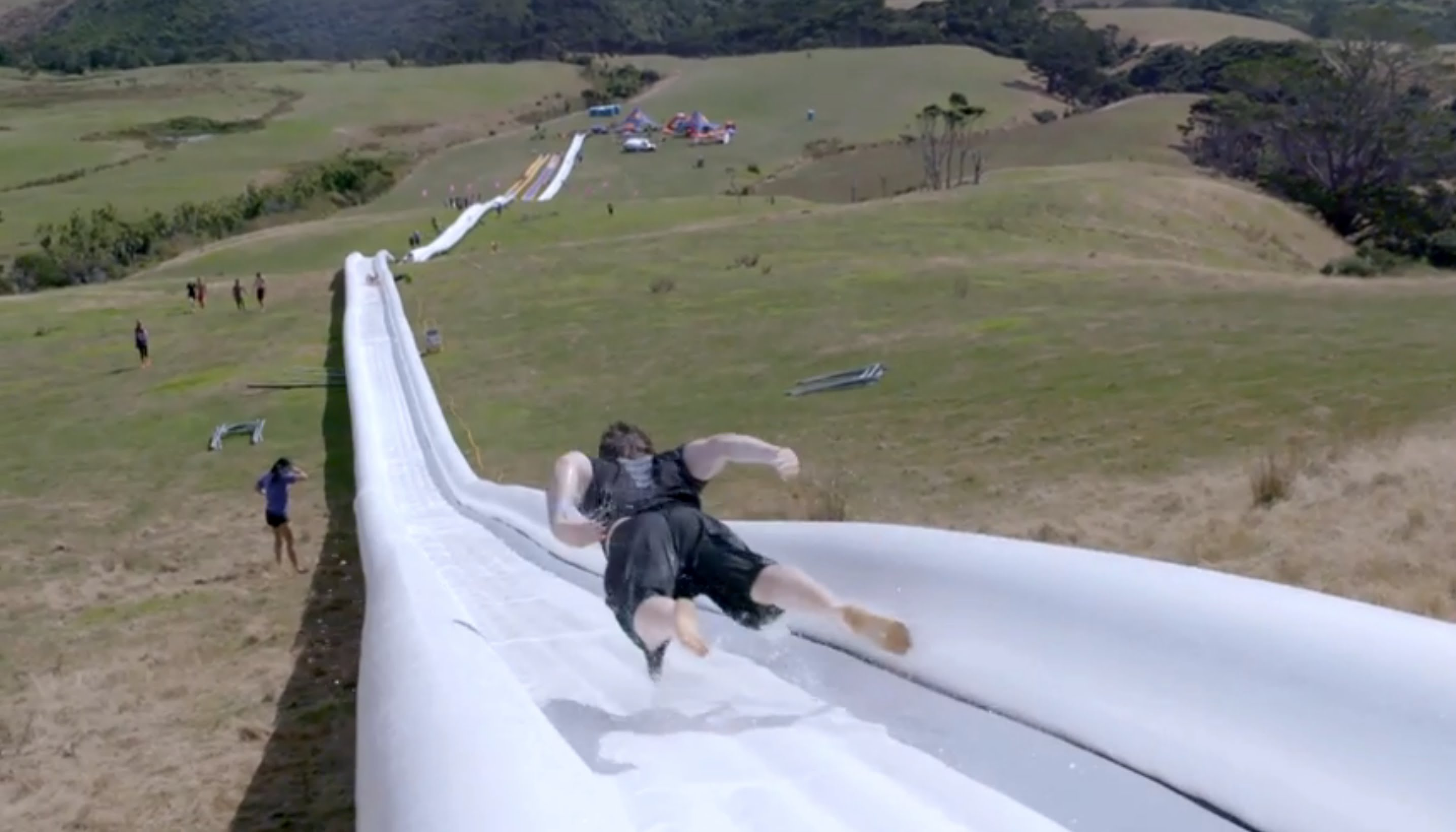 The World's Longest Waterslide
