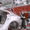 90 second tour of the Tesla Factory