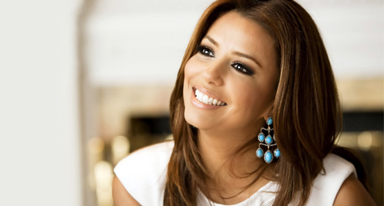 Eva Longoria's group Valentine's Day plan