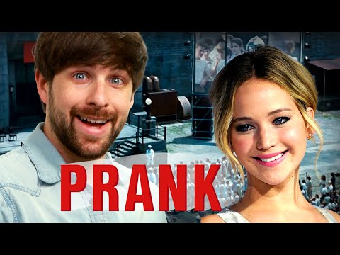 Jennifer Lawrence pranks prankster