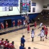 High school player shatters backboard