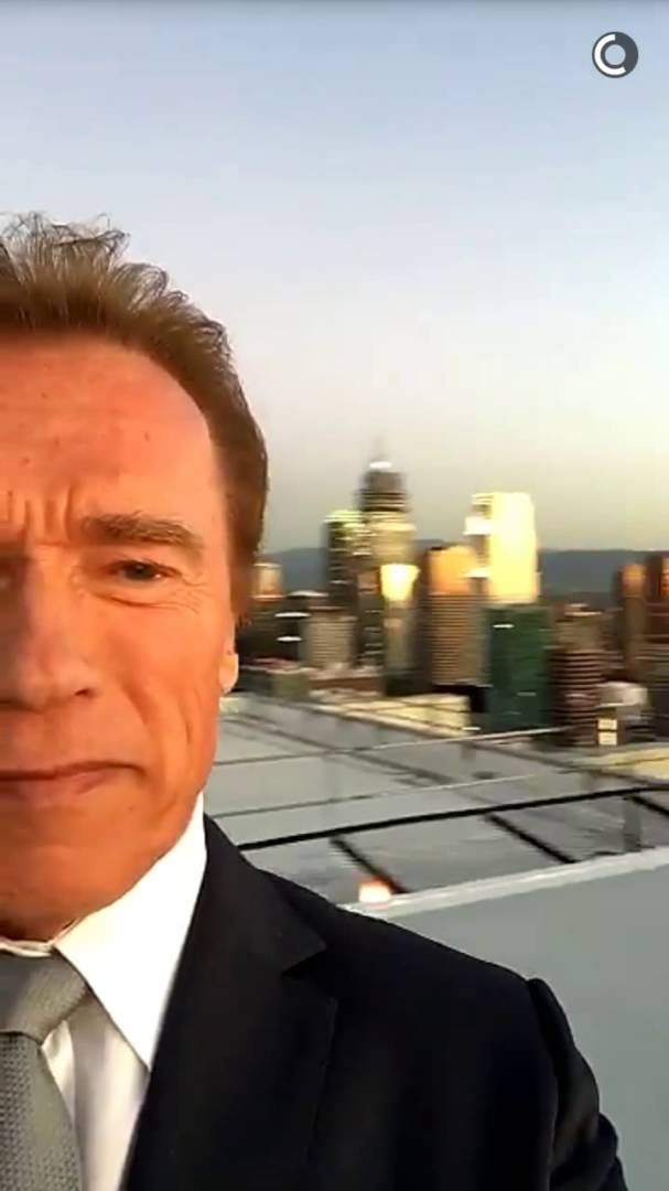 Arnold is Winning At Snapchat