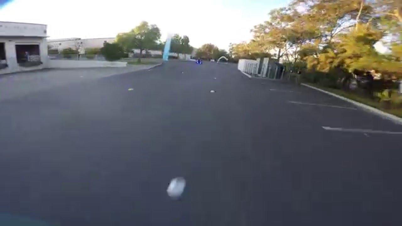 Drone warehouse racing