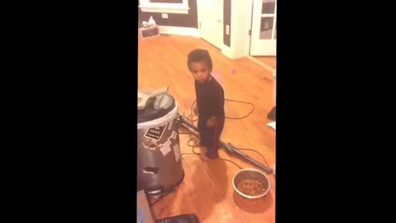 Kid Freezes whenever he gets in trouble