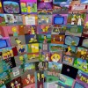 The Simpsons sphere – 360° 500 episodes