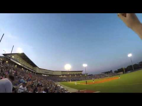 Baseball Fan Catches Ball Bare Handed