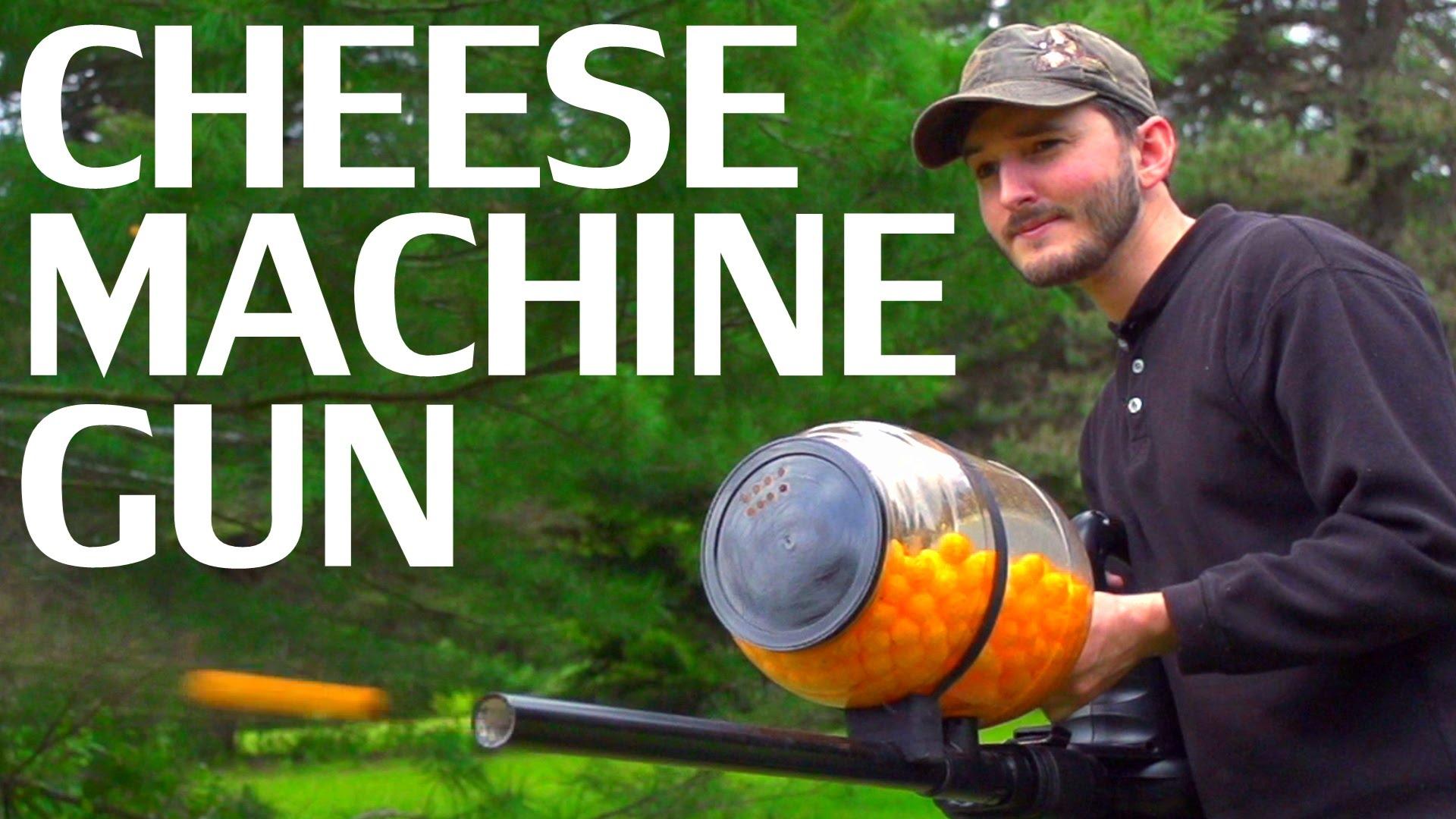 How to make a cheeseball machine gun