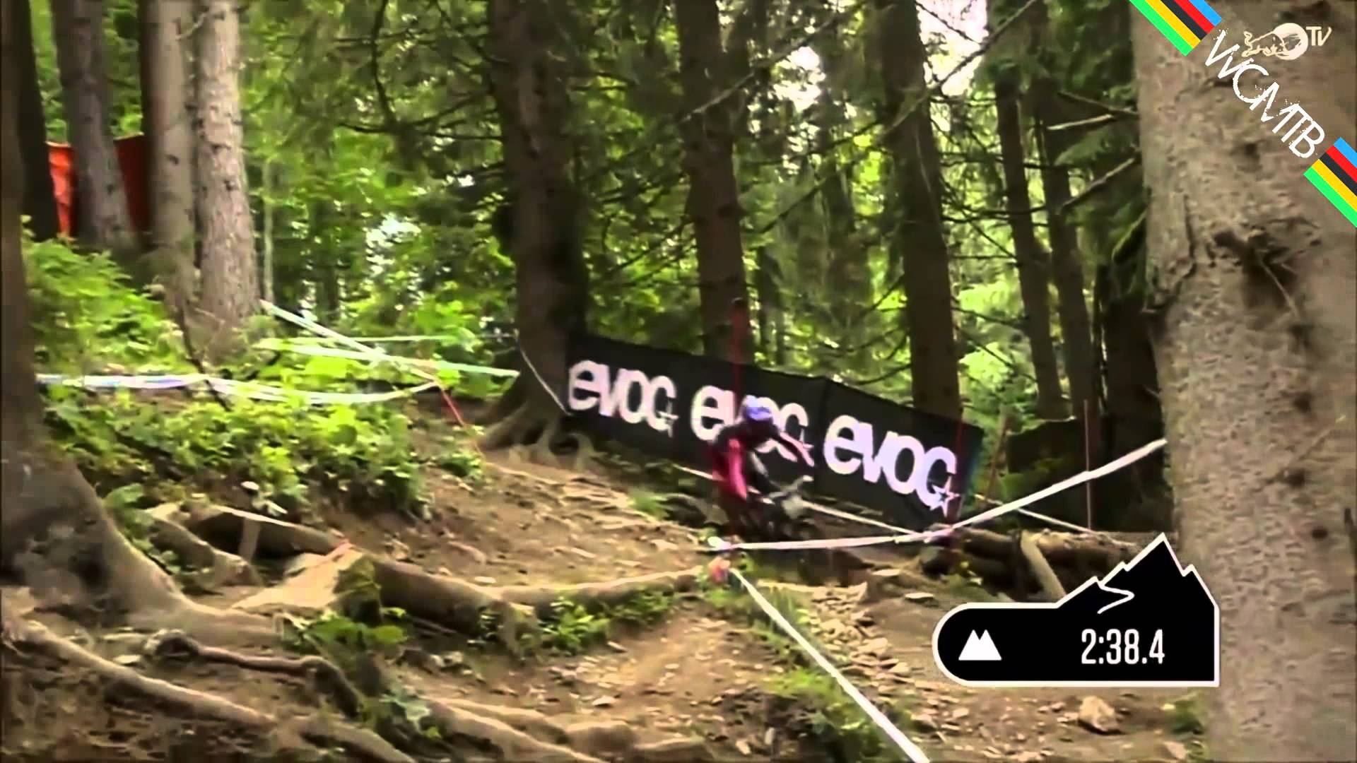 Mountain Biker Wins Race Without Bike Chain