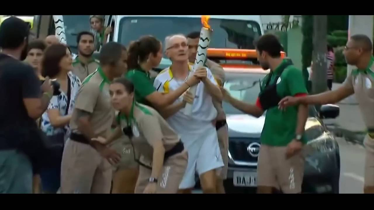 The Trials of The Olympic Torch