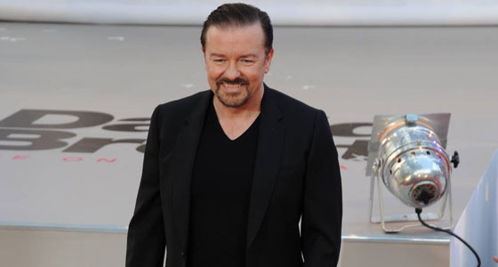 Ricky Gervais halts stand-up show after suffering health scare