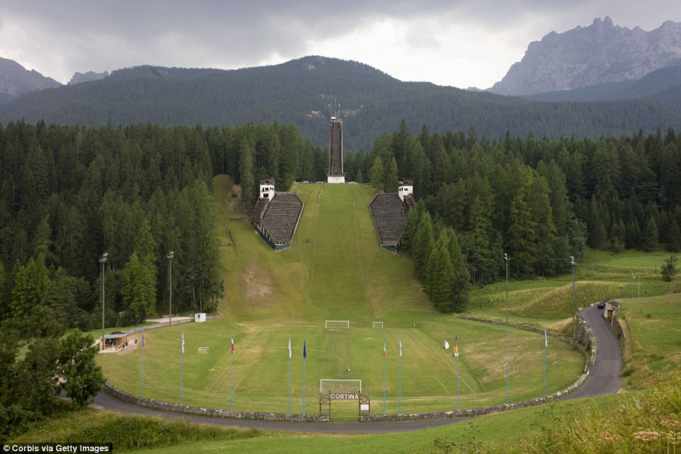 Cortina d'Ampezzo 1956 Ski Jump
