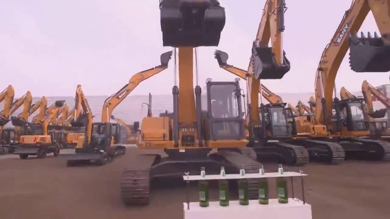 Epic excavator skills competition