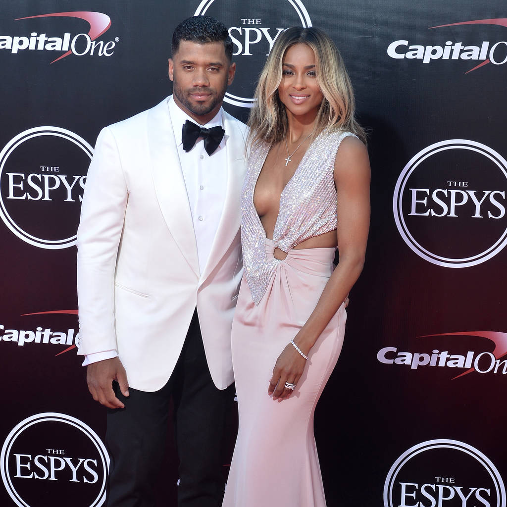 Russell Wilson and Ciara 	 © FayesVision/WENN.com