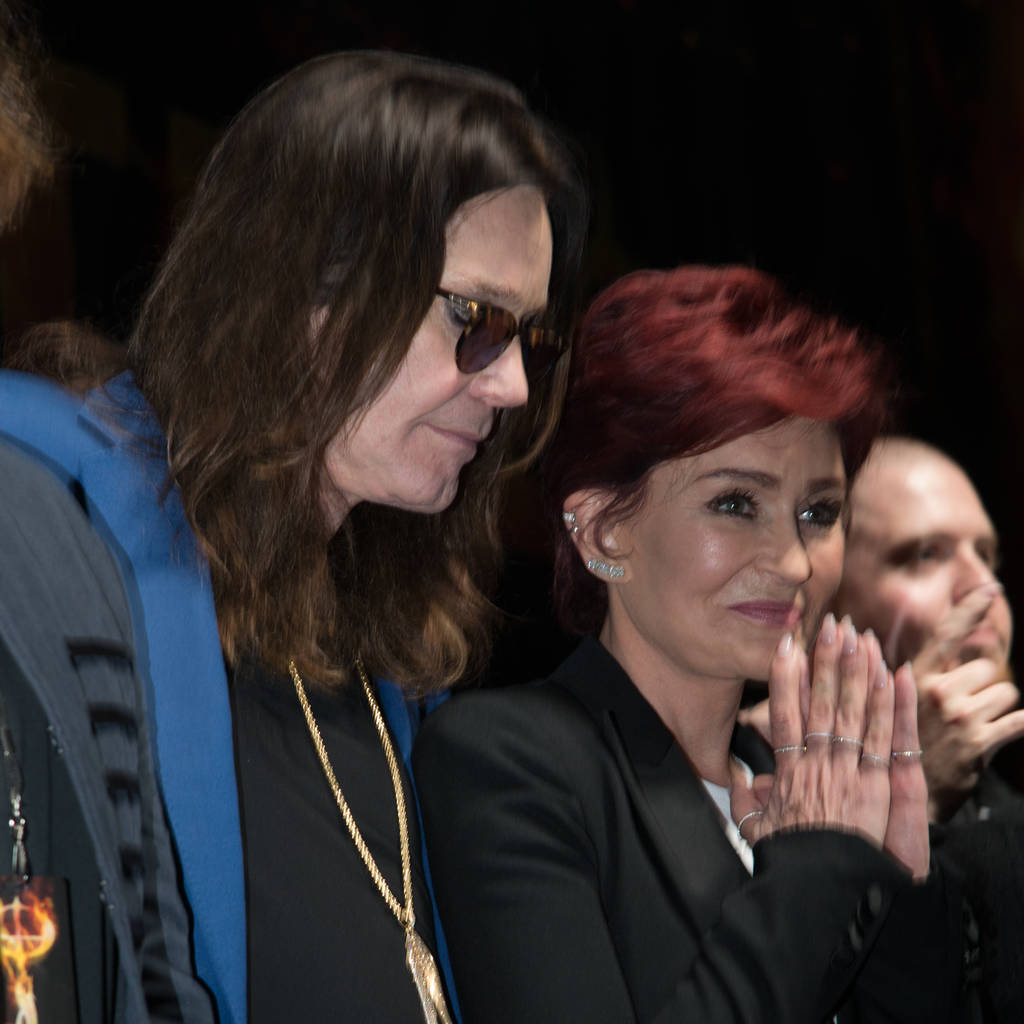 Ozzy Osbourne and Sharon Osbourne  © Charlie Steffens/WENN.com