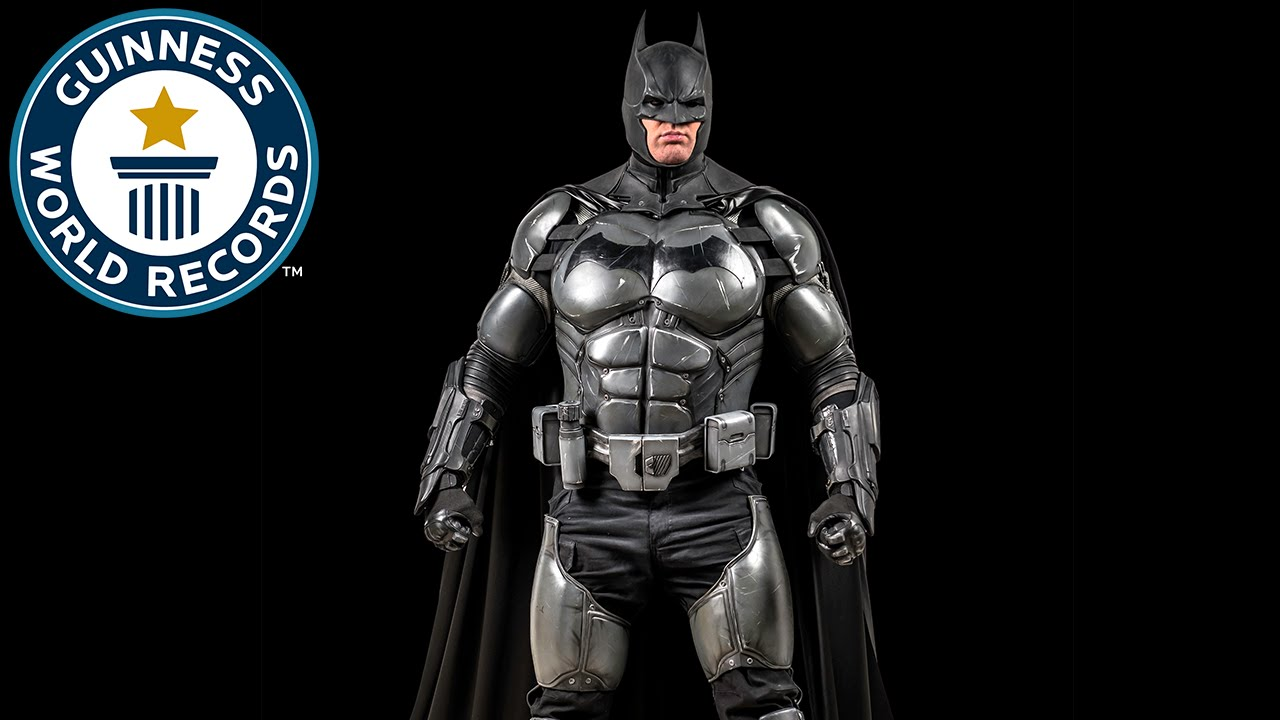 This guy made the ultimate Batman suit