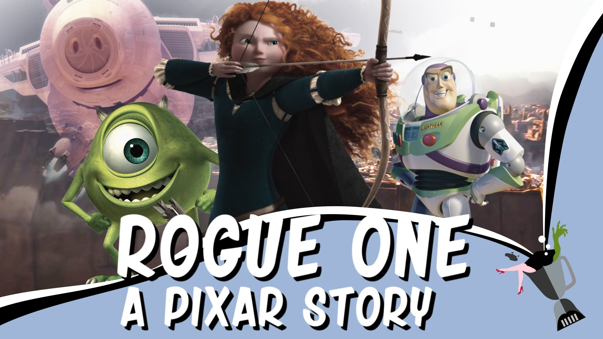 If Pixar created Star Wars: Rogue One