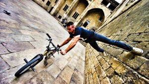 'Bike Parkour' looks very difficult