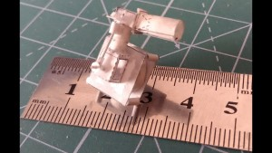 Guy builds a tiny, working single-cylinder engine out of paper