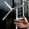 Butterfly knife tricks that will make your inner Mom really nervous
